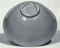 Plain bowl, with spur marks on base